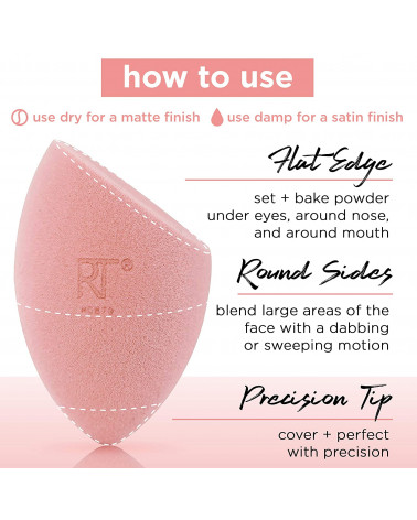Real Techniques Miracle Complexion Sponge & Miracle Powder Sponge - sis-style.gr