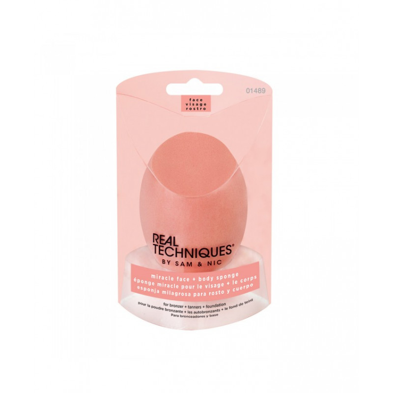Real Techniques Miracle Face & Body Sponge - sis-style.gr