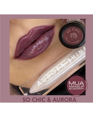 MUA Lip Set SO CHIC & AURORA - sis-style.gr