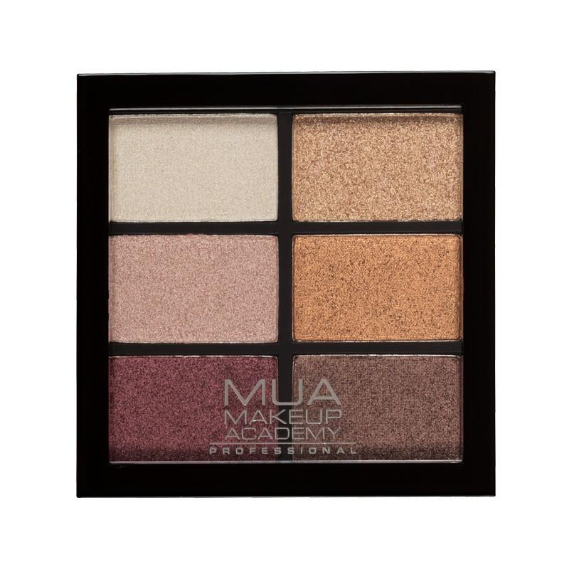 MUA 6 Shade Eyeshadow Palette Rusted Wonders - sis-style.gr