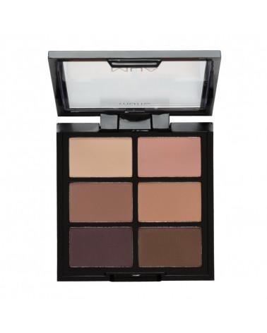 MUA 6 Shade Eyeshadow Palette Soft Suedes - sis-style.gr