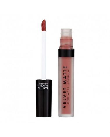 MUA Velvet Matte Long-Wear Liquid Lip - CAREFREE - sis-style.gr