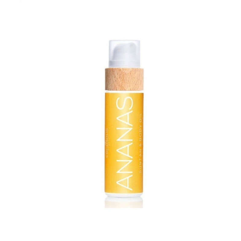 Cocosolis Organic - ANANAS Sun Tan Body Oil - sis-style.gr