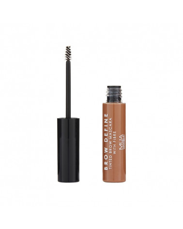 MUA Brow Define Tinted Mascara With Fibre - MID BROWN - sis-style.gr