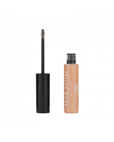 MUA Brow Define Tinted Mascara With Fibre - FAIR - sis-style.gr