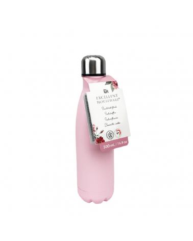 Μπουκάλι Θερμός - Pink 500ml - sis-style.gr