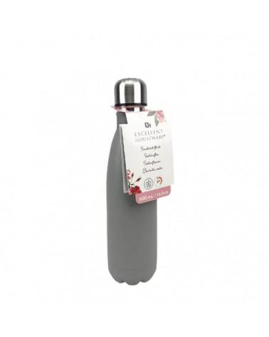Μπουκάλι Θερμός - Grey 500ml - sis-style.gr