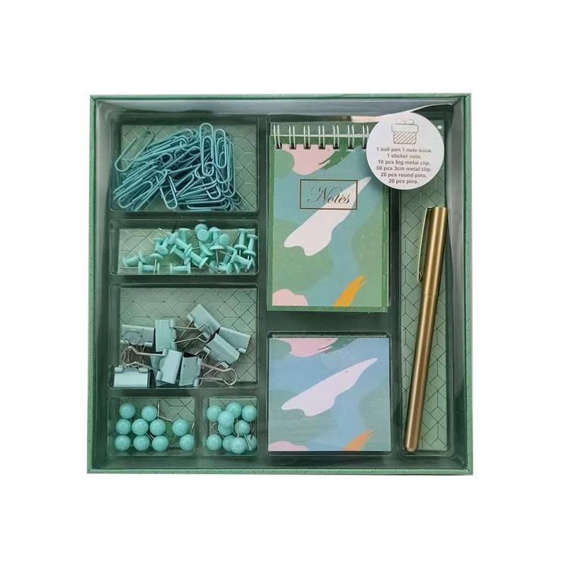 Σετ γραφικής ύλης green army 40τεμ. σε κουτί δώρου - sis-style.gr