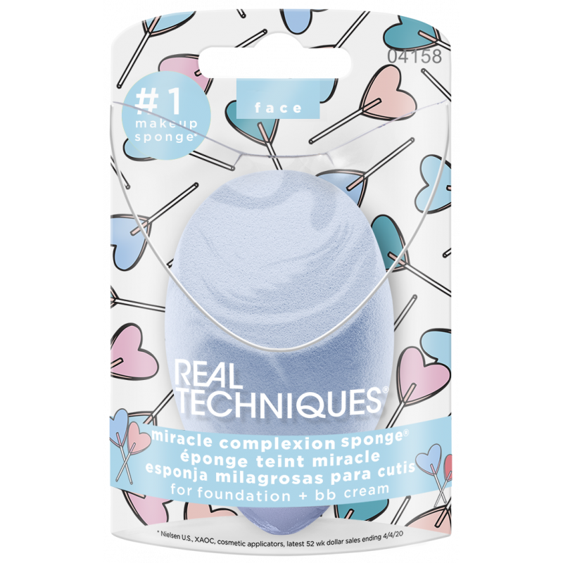 Real Techniques Miracle Complexion Sponge Blue - sis-style.gr