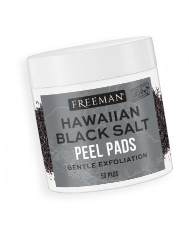 Freeman Hawaiian Black Salt Peel Pads Gentle Exfoliation 50 Pads - sis-style.gr