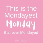 Happy Monday #sisbeauties 💁🏻♀️💕 . . . #sis_beauty #sis_style #sisstylegr